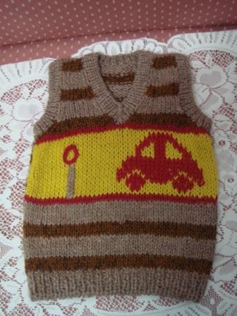編み物28