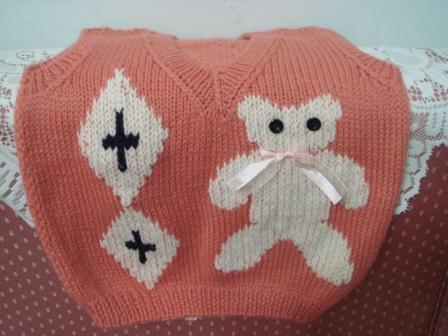 編み物25