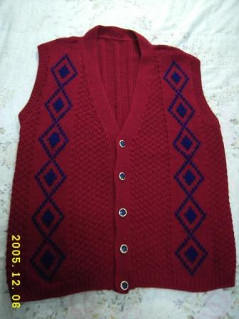 編み物40