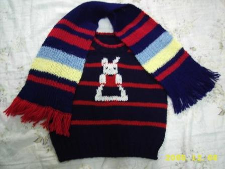 編み物38