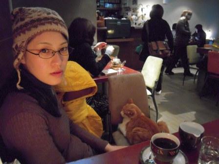 春節━猫カフェ18