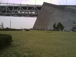 明石海峡大橋付近広場