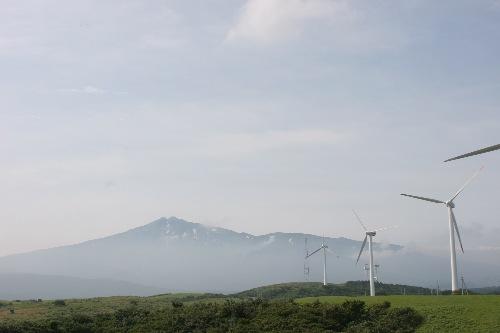 秋田県鳥海山の麓。