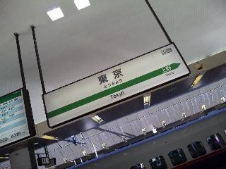 初・東京駅!