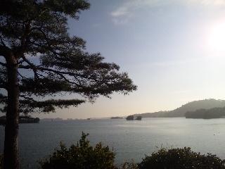 五大堂からの景色