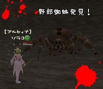 野郎蜘蛛と戦うわけですが…