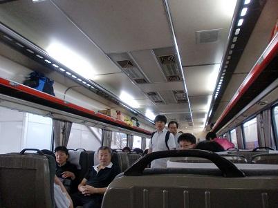 *列車内*