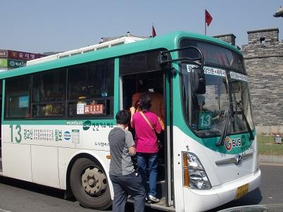*水原駅からバスで~*
