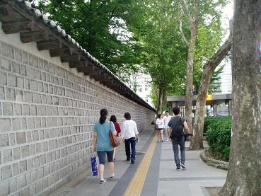 *徳寿宮の通り~*