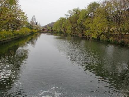 *川面に映る風景*