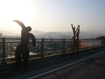 *ソウルの街の方向を見てる~*