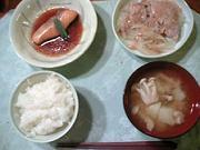 昨日の夕飯。