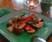 小海老の枝豆の淡泊炒め