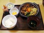 ビビンバ(?)定食