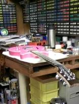 ギター修理中l