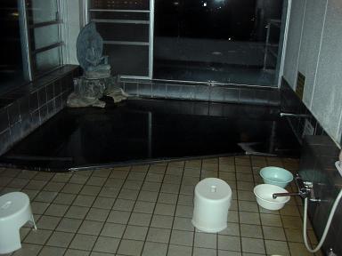 ホテルの温泉