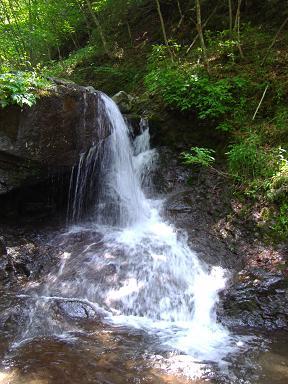 美しい小滝
