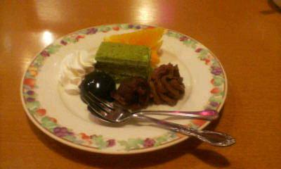 プチ抹茶ケーキ