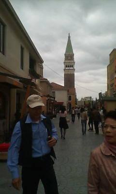 イタリア村の風景