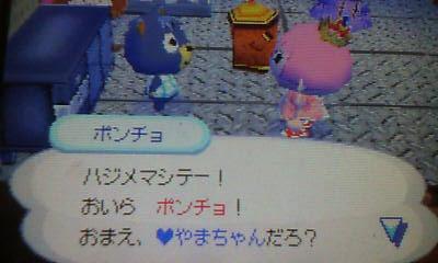 ポンチョと♥やまちゃん!!