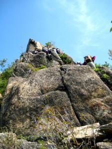 烏帽子岩1332