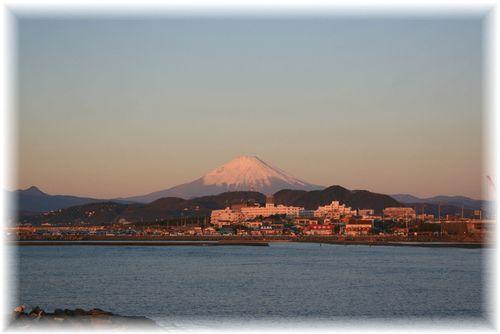 2009年 初富士山