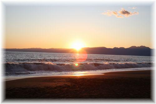 日も沈み・・・
