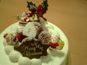 グランダジュールクリスマスケーキ
