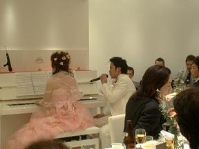 結婚式⑦ピアノ