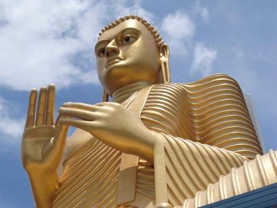 Dambulla Golden Budda
