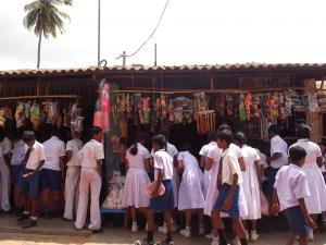 Dambulla school trip