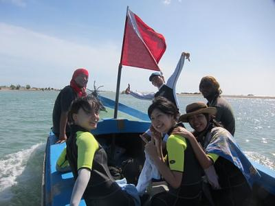 Trinco divingboat