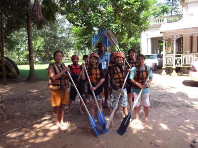Rafting member