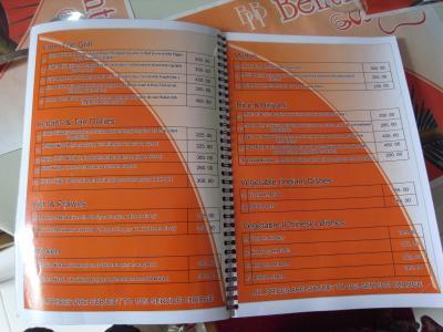 bentotabake menu