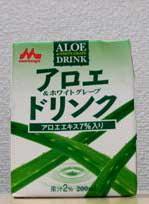 アロエ&ホワイトグレープドリンク(200ml)