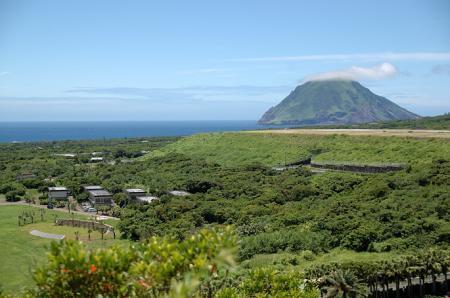 八丈島の景観