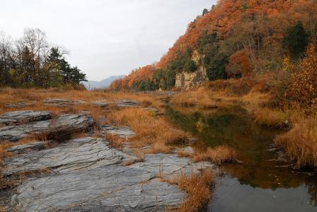 岩畳の風景