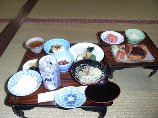 高野山で食べた夕食