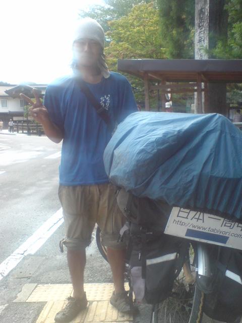 高野山で出会った旅人