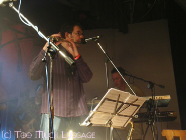 Theo on flute
