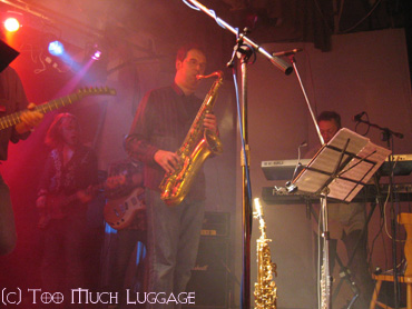 Theo on sax