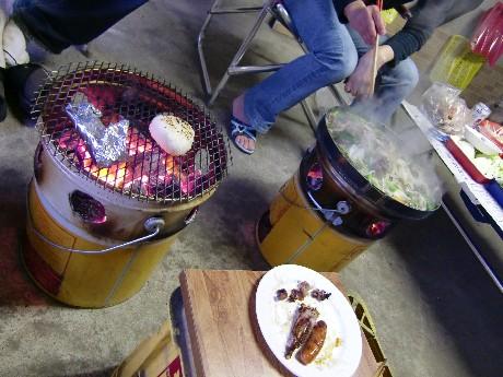 網焼き用とジンギスカン鍋用