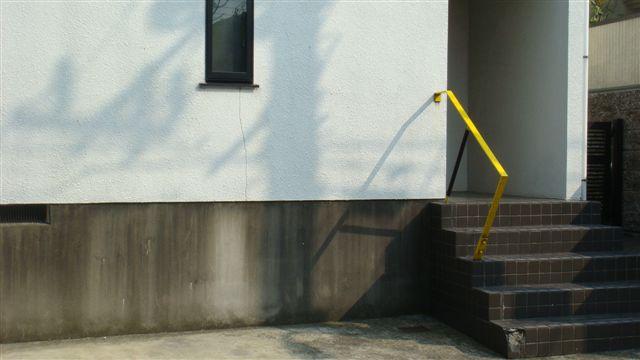 ☆黄色い手すりの家
