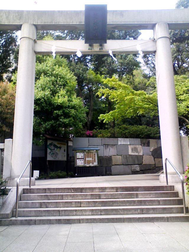 乃木神社の鳥居です