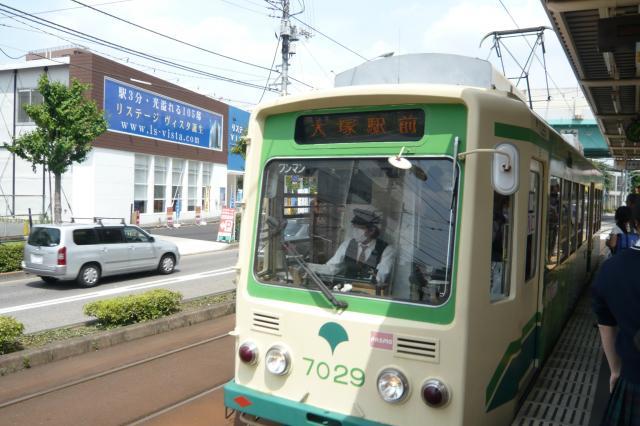 都電荒川線・・・私の大好きな電車ですっ(^o^)/