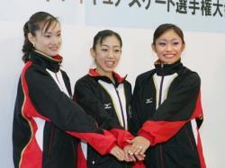 スケート3姉妹