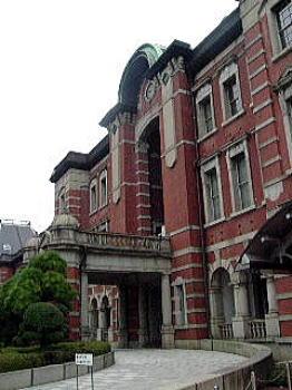 東京駅ホテル入口