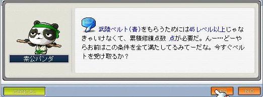 青ベルト2010 0704