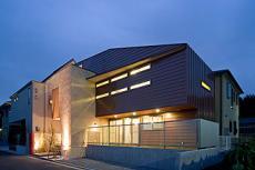 和光市谷中の家の竣工写真1