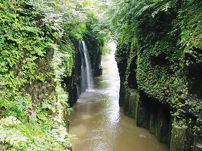 高千穂峡・真名井の滝